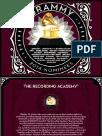 Digital Booklet - 2014 GRAMMY® Nomin