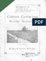 Cotton Growing for Rural Schools
