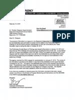 TEA report of BISD