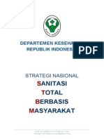 Pedoman Sanitasi Total Berbasis Masyarakat (STBM)