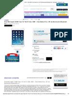 iPad Mini Apple 16GB Tela 7,9_ Wi-Fi Câm. 5MP Tela Retina Proc. M7 de Movimento Bluetooth 4