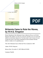 How Britannia Came to Rule the Waves-W.H.G. Kingston