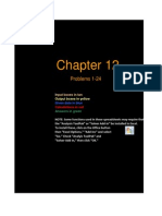 FCF 9th Edition Chapter 12