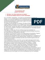 com 0121, 090405 Avances en los primeros 100 días de gobierno de Eugenio Hernández Flores.