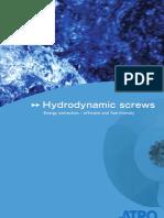Hydrodynamic Screws
