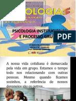 3 Bimestre Psicologia Institucional e Proc Grupal