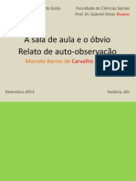CARVALHO JÚNIOR, Marcelo B. - a Sala e o Óbvio