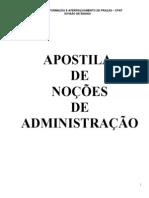 Apostila Nocoes de Administracao