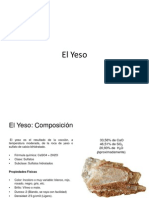 YESO. Material Constructivo