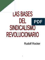 Las Bases Del Sindicalismo Revolucionario