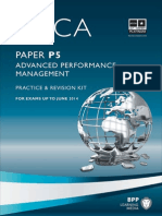 ACCA P5kit - Advanced ACCA Performance Management P