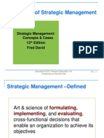 strategic mgmt concept n cases by fred r david