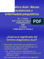 Diagnostico Dual Abuso de Sustancias y Enfermedad Psiquiatri
