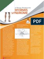 Manual Therapy Treatment for Piriformis Syndrome by Prof. Umasankar Mohanty PT