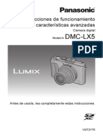Manual LUMIX LX 5 Original Protegit)