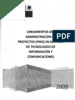 Lineamientos de Admon Pmo-25062013122325