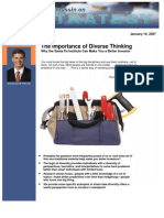 Mauboussin - The Importance of Diverse Thinking