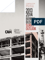 CAM Biennial Business Survey 2013-2014