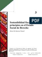 Principio de Sostenibilidad Fiscal