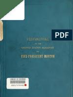 (1893) Testimonial to Vice-President Levi Parsons Morton