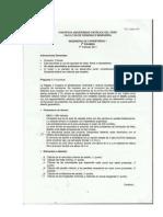 Examen 01 Ingenieria de Carreteras 1 2011-1