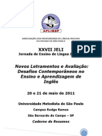Xxvii+Jeli+ +Caderno+de+Resumos