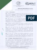 Directrices Pai Frutas y Hortalizas 10-2012