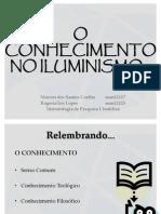 Seminário 1 - O Conhecimento No Iluminismo