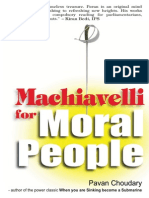 Machiavelli for Moral People