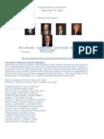 Federal Reserve Fact Sheet Sept09