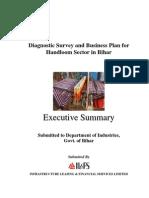 Handloom Sector - Executive Summary