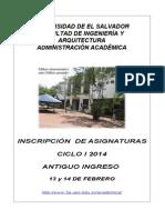 Ins. Antiguo I2014