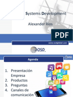 OSD Presentación AnywERP - Sistema de Automatizacion de Fuerza de Ventas - crm medellin