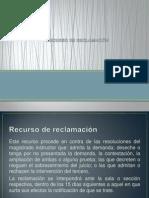 8 RECURSO DE RECLAMACIÓN, - cop.pptx