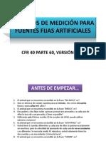 Metodos de Medicion Para Fuentes Fijas Artificiales - Resumen