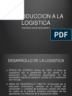 Introduccion a La Logistica