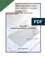 52158135 Trabajo Sobre Prescripcion y Caducidad ROLANDO