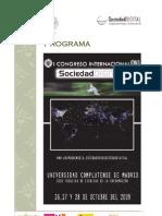 Programa I Congreso Internacional Sociedad Digital