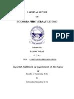 HVD report