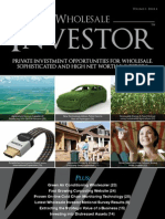 Wholesale Investor Edition 6