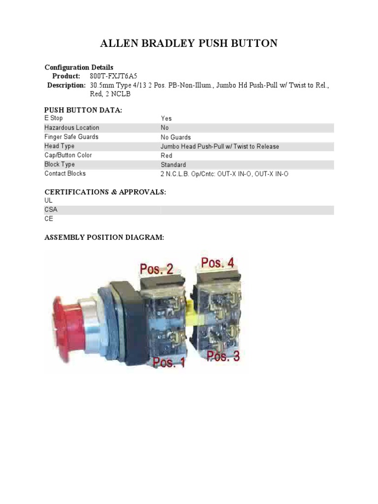 Electrical Wiring Diagram 800t Pb Trusted Diagrams 3 Position Push Pull Switch Free Vehicle U2022 Motor Controls
