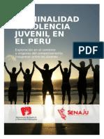 Criminalidad y violencia juvenil en el Perú