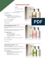 Molton Brown - Cosmetics Proposal