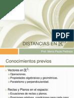 Distancias en R3
