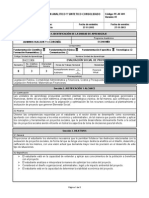 Plan Analitico y Sintetico - Evaluaciòn Social de Proyectos 2014-1