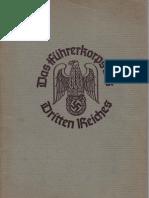 (1936) Das Fuhrerkorps des Dritten Reichs