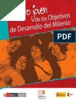 Rostro Joven de los objetivos de Desarollo y Milenio