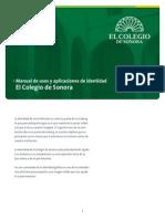 DISEÑO  manual COLEGIO SONORA