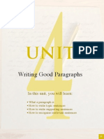 Writting Good Paragraphs in English