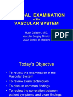 Principles of the Vascular Exam